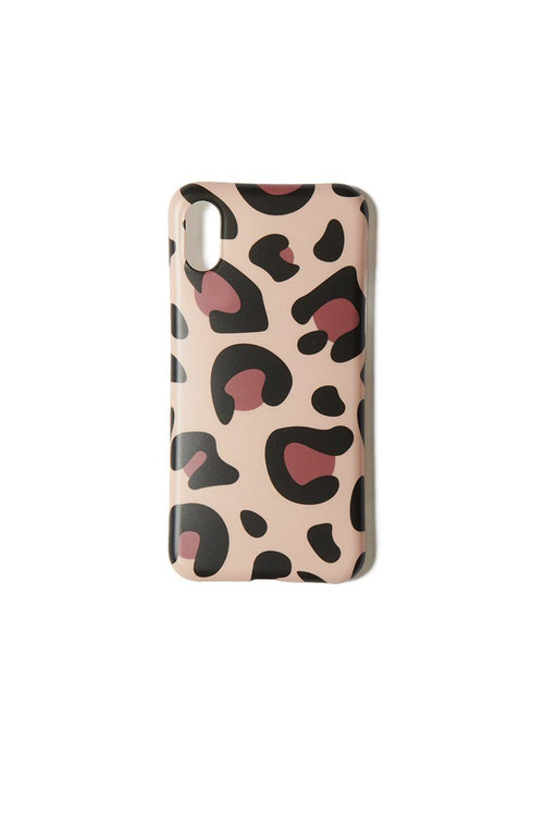 Tan Leopard iPhone XS/X Case