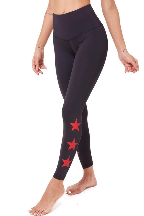 The Teagan Long - Black/Red Star