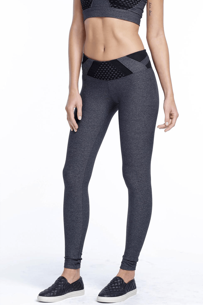 City Mesh Leggings - INFLOWSTYLE  - 1
