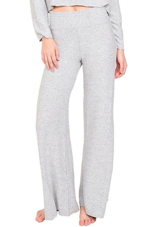 Weekend Palazzo Pant - Heather Gray