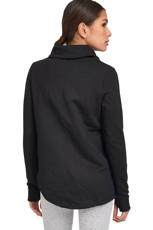 Zip Up Sweater - Black