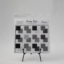 Load image into Gallery viewer, Printed Paper - The Hedgehog Hollow - Black to Basics Patterned Square Paper Pack