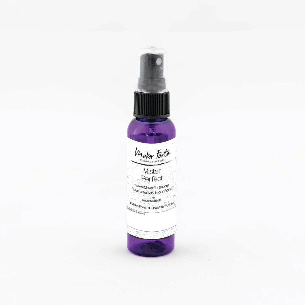 Maker Tool Kit - Mister Perfect - Refillable 2 oz Spray Bottle (Mr Perfect)