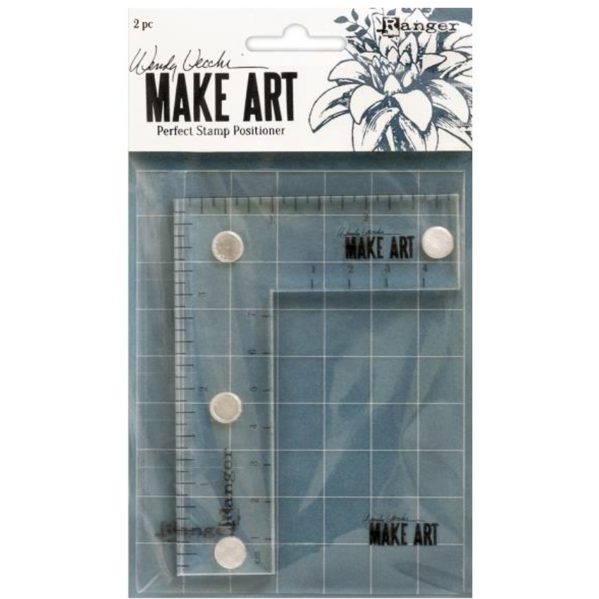 Wendy Vechhi Make Art Perfect Stamp Positioner Set