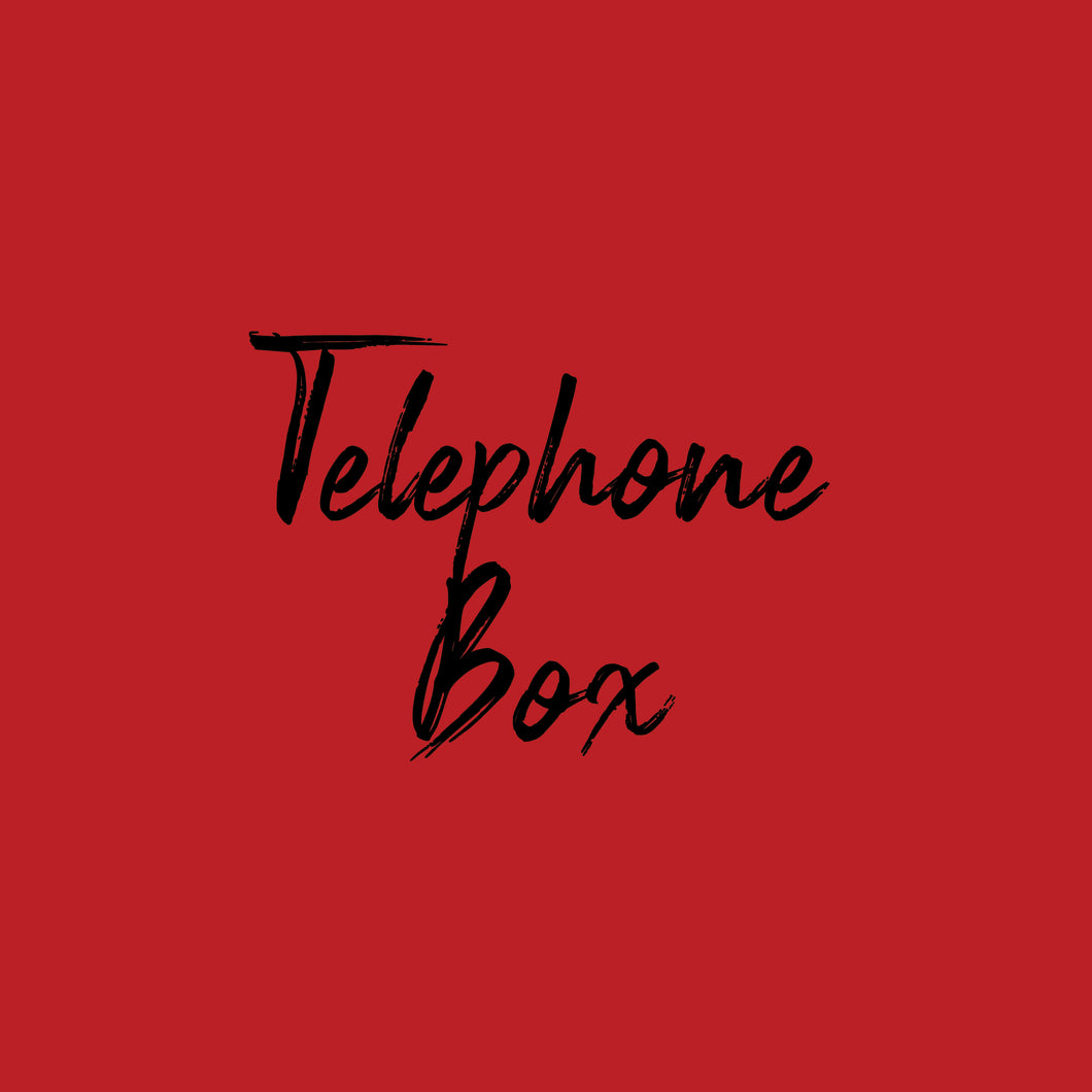 Cardstock - Solid Core - Telephone Box