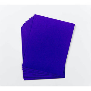 Cardstock - Solid Core - Coronation Purple - Maker Forte
