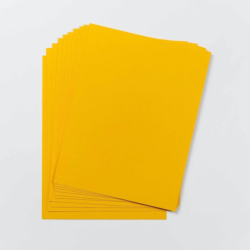 Cardstock - Solid Core - English Mustard - Maker Forte
