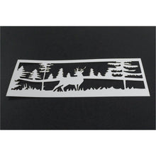 Load image into Gallery viewer, Stamp & Stencil Set - Hedgehog Hollow - Deer to Me Scene - Maker Forte