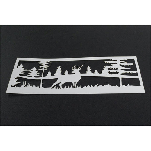 Stamp & Stencil Set - Hedgehog Hollow - Deer to Me Scene - Maker Forte