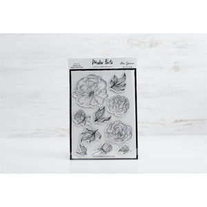 Stamps - Alex Syberia Design - Sketched Peony - Maker Forte