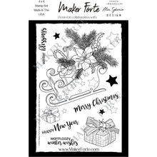Load image into Gallery viewer, Stamps - Alex Syberia Design - Sleigh Bouquet - Maker Forte