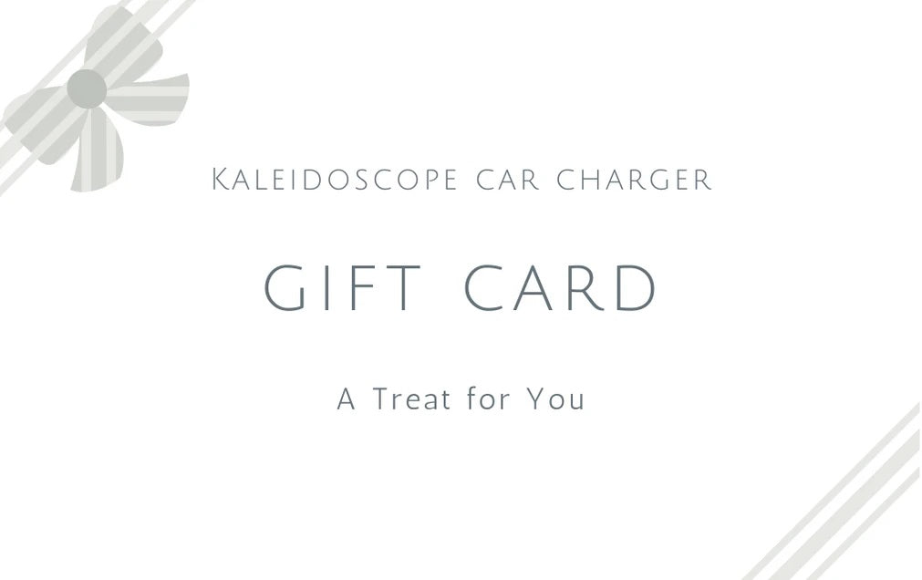 Kaleidoscope Charger Gift Card