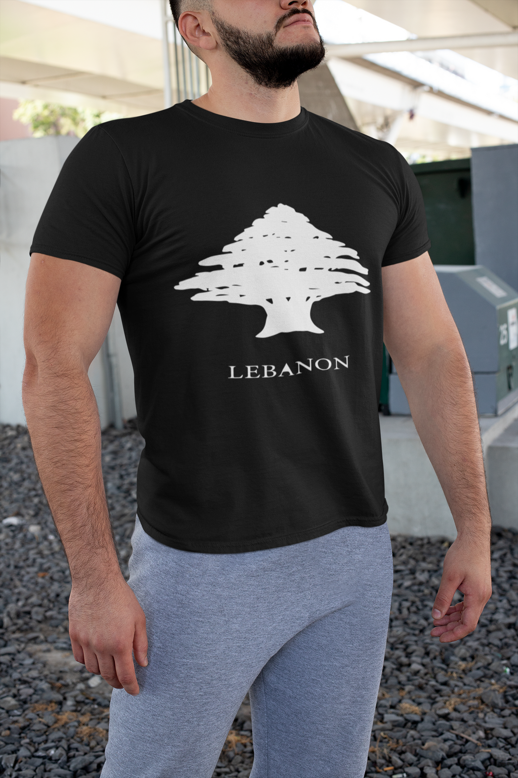 Cedar Tree | White/Black