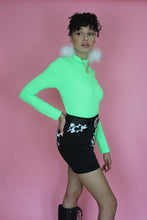 Load image into Gallery viewer, New Green Ribbed Long Sleeve Top