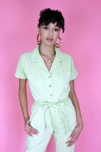 Load image into Gallery viewer, Pastel Green Boilersuit