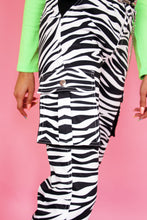 Load image into Gallery viewer, Zebra Cargo Pants
