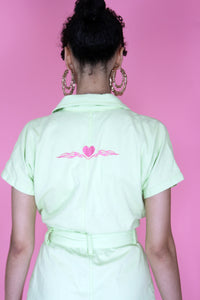 Pastel Green Boilersuit
