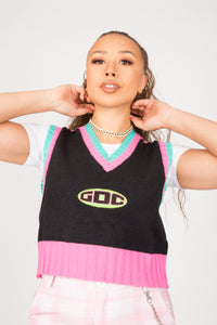 GDC Cheerleader Sweater Vest