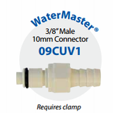 "09CUV1 Watermaster 3/8"" (10MM) Male Connector"