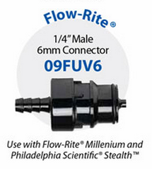 "09FUV6 Flow-Rite 1/4"" (6MM) MALE CONNECTOR"