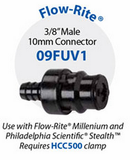 "09FUV1 3/8"" Male Connector for Flow-Rite"