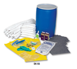 SK-55 Battery Spill Kit in 55 Gallon Drum