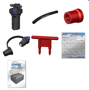 Flow Rite 18 Cell 36v Single Point Watering Kit Remis