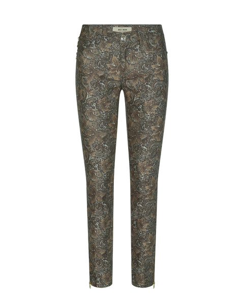 Housut, Victoria Jive Pant Chocolate Chip 27t