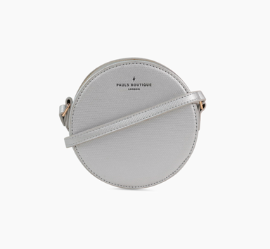 Cross Body Bag Annabel Round Silver - Boutique Freda - Bombus