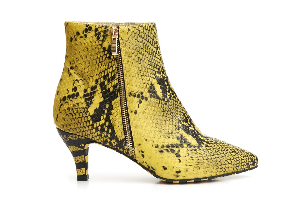 Ankle Boots Pointed Toe Kitten Outback - Lola Ramona - Bombus