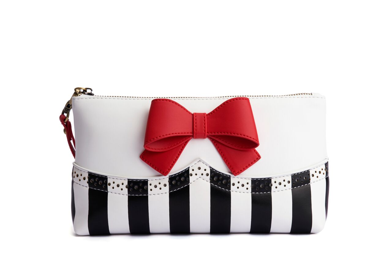 Clutch Bag Bella Red Bow - Lola Ramona - Bombus