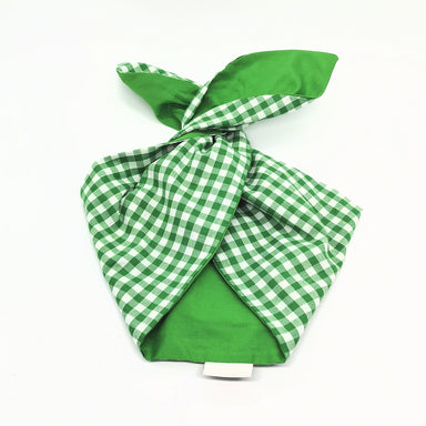 Hairband Bright Green Gingham / Green - BeBop - Bombus
