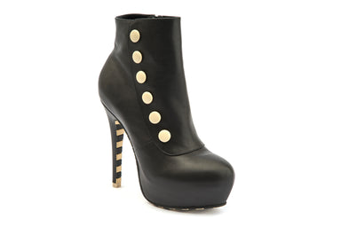 Ankle Boots Platform Fashion High Heels Marilyn - Lola Ramona - Bombus