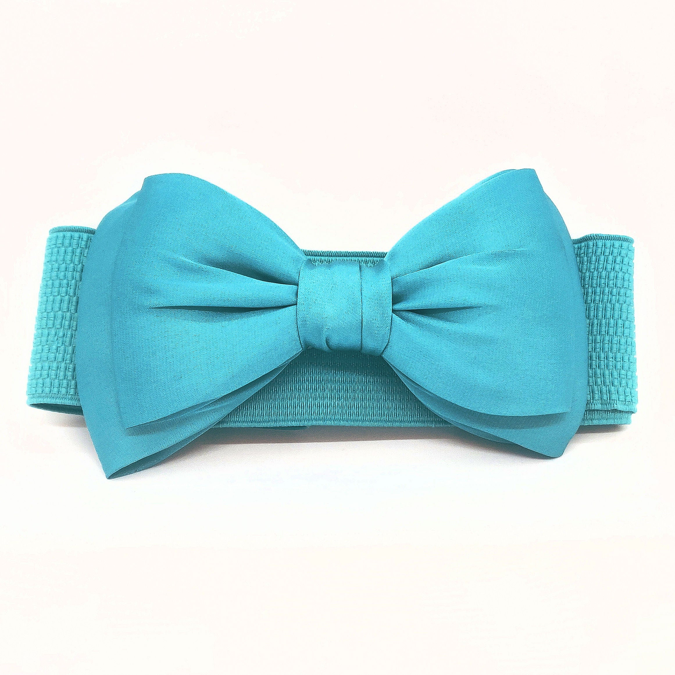 Belt Bella Bow Turquoise - Banned Apparel - Bombus