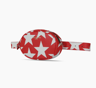 Bum Bag Simi Red White - Boutique Freda - Bombus