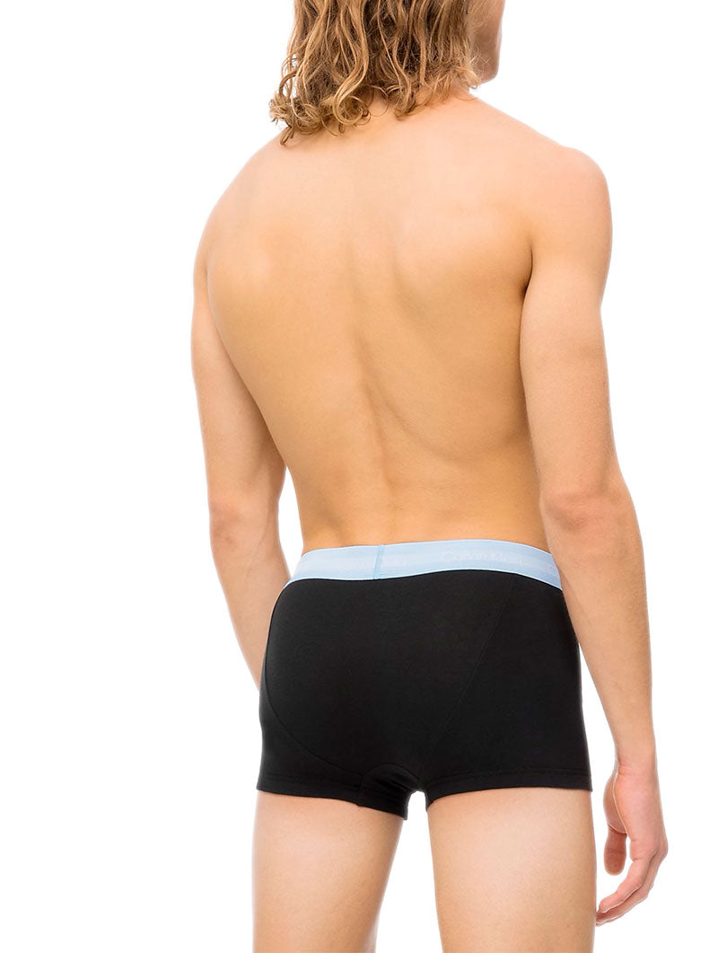 CK LOW RISE TRUNK 3PK IN BLACK