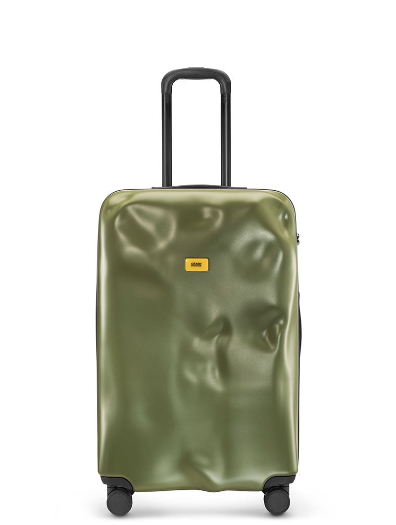 LARGE TROLLEY IN OLIVE GREEN