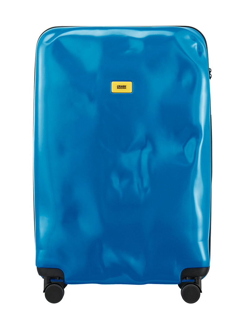 ACCESSORIES | LARGE PAINT BLUE CRASH BAGGAGE | TROLLEY | CRASH BAGGAGE