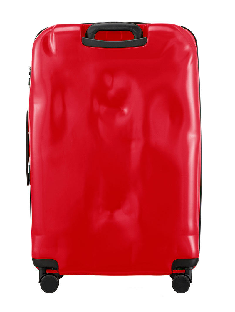 ACCESSORIES | LARGE CRAB RED CRASH BAGGAGE | TROLLEY | CRASH BAGGAGE