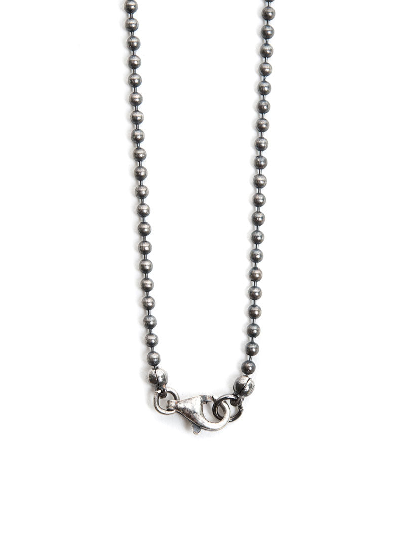 CHAIN NECKLACE WITH NATIVE BROK IN SILVER