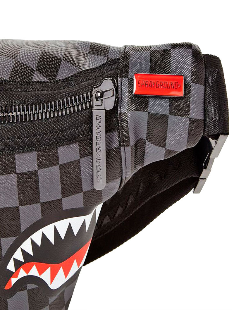 GREY SHARKS IN PARIS POUCH BAG