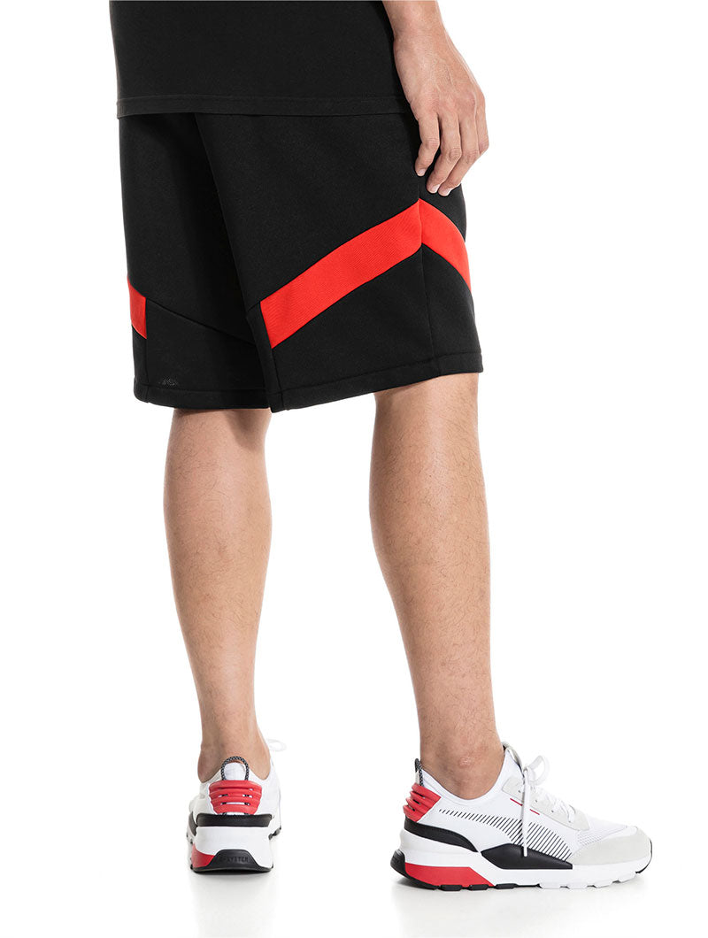 ICONIC MCS SWEATSHORT IN BLACK