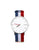 WHITE PURE WATCH CAPTAIN FABRIC STRAP
