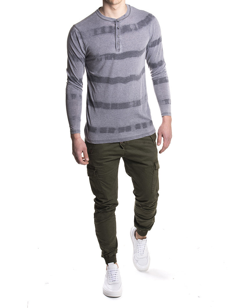 LONG SLEEVE FANTASY STRIPE | T-SHIRT NOHOW STYLE | TOTAL LOOK NOHOW STYLE