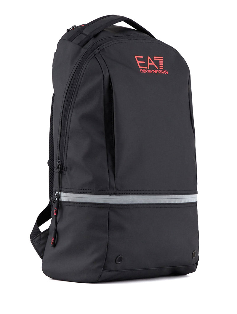EA7 BACKPACK IN BLACK