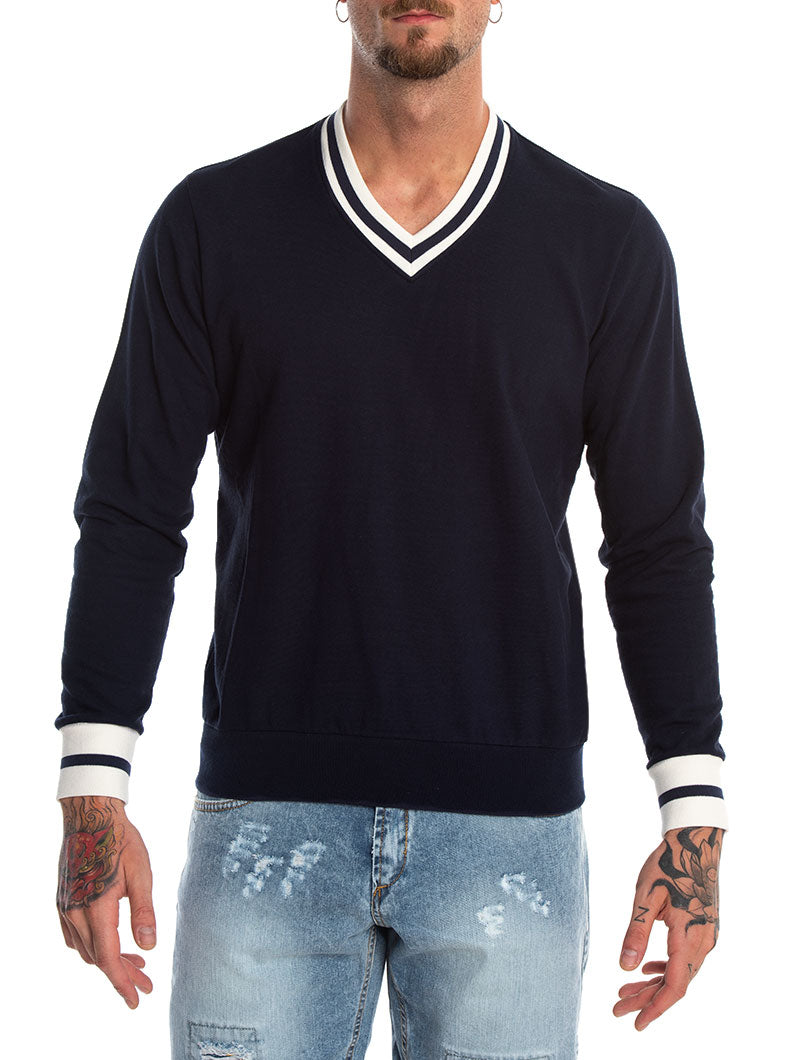 LERO SWEATSHIRT IN BLUE