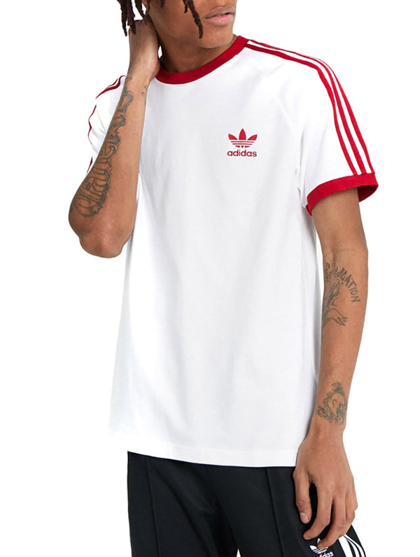 info for e5838 35c0f ADIDAS 3-STRIPES TEE IN WHITE