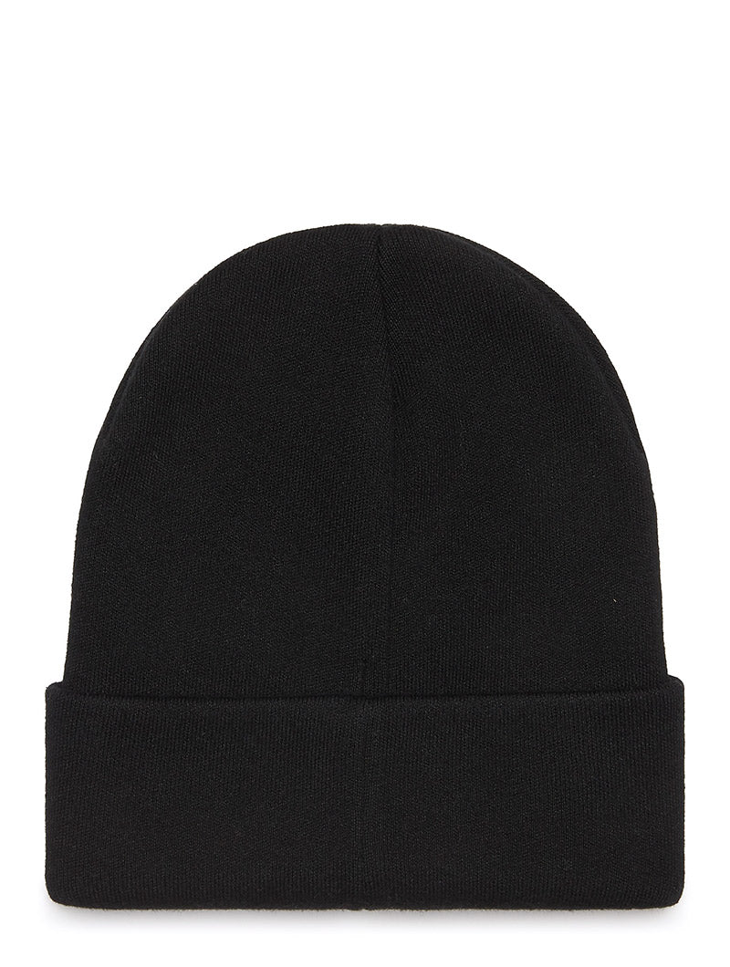 TJM LOGO BEANIE IN BLACK
