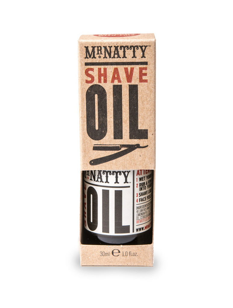 SHAVE OIL