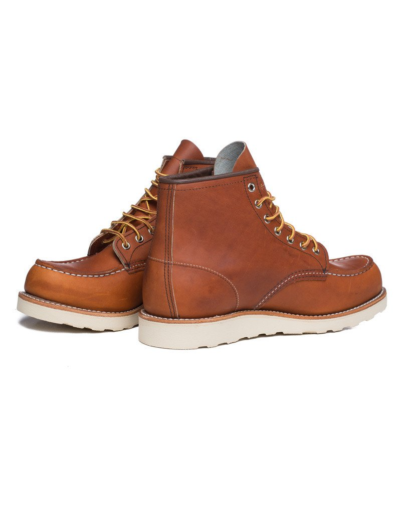 RED WING LEATHER BOOTS IN LIGHT BROWN